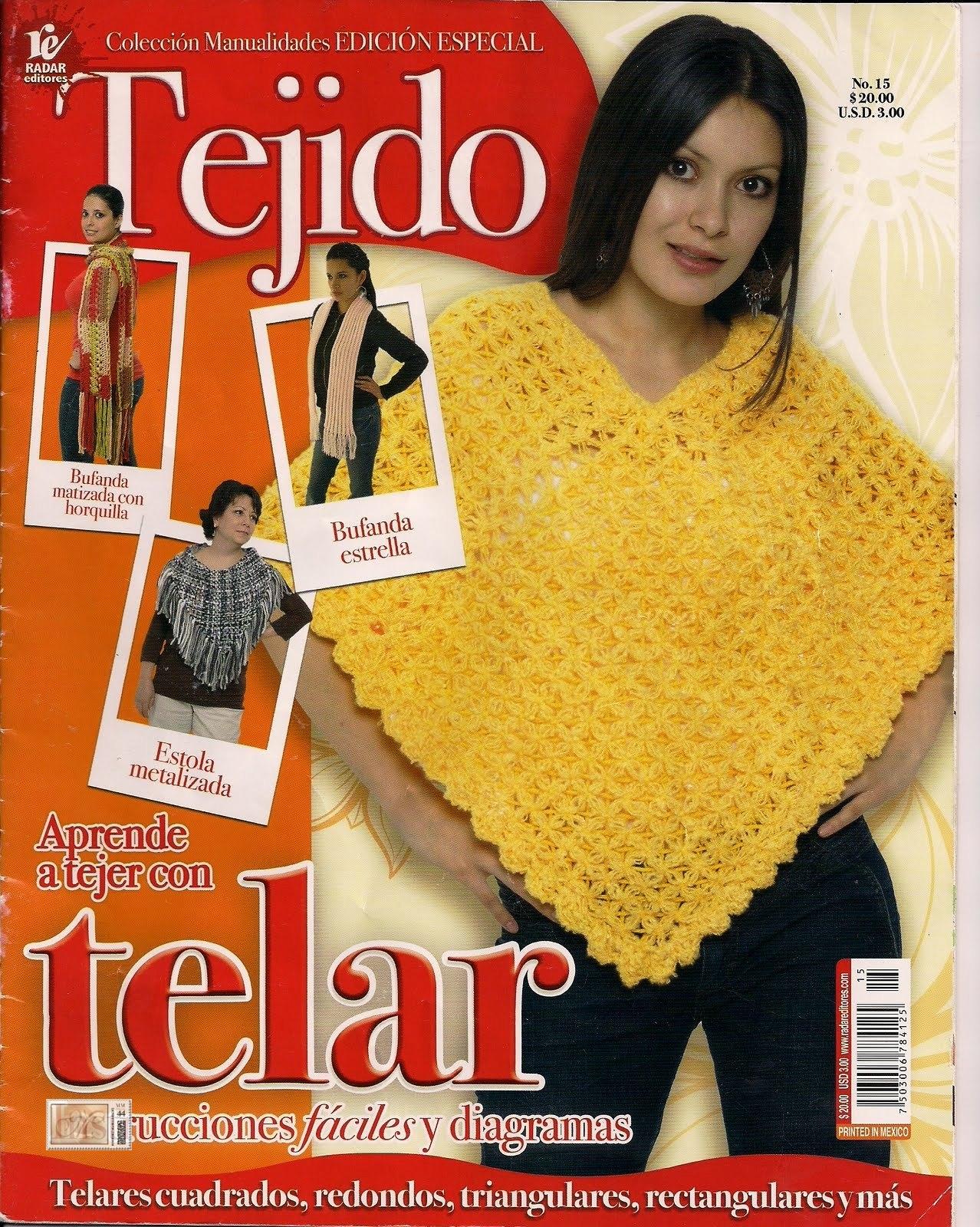 Revista  Aprend   A Tejer Con Telar