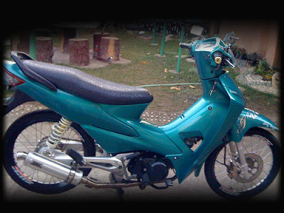 motor honda supra fit modifikasi