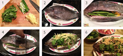 step by step how to steam a whole fish