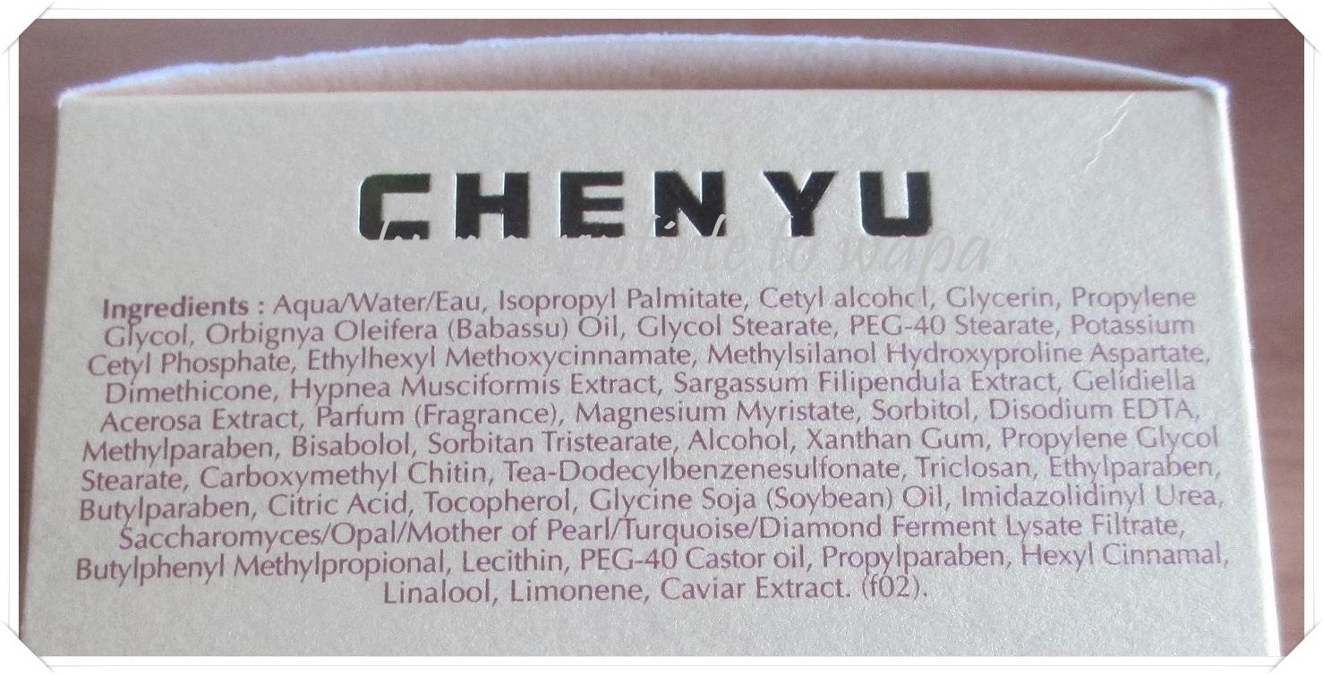 CHEN YU Stop Rides - Mi primera crema antiarrugas