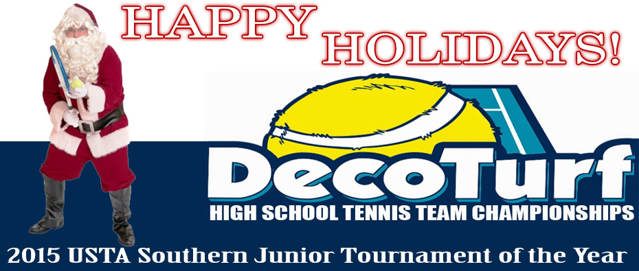 DecoTurfHigh School Tennis Team Championships