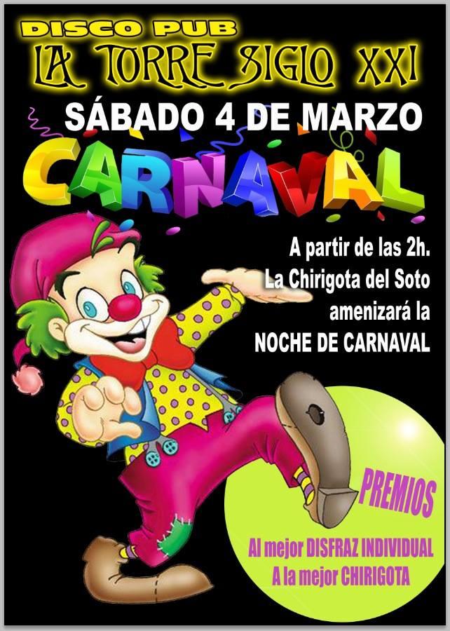 Carnaval en Pub La torre Siglo XXI