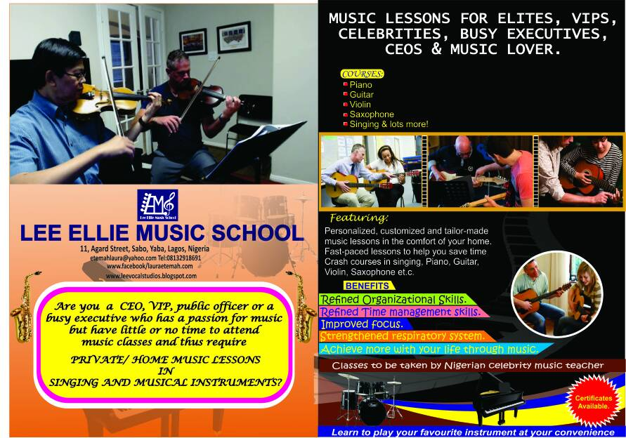 Music Lessons for VIPs Only