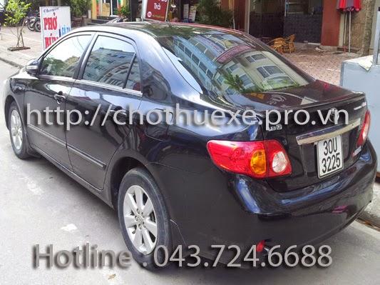 Cho thuê xe: Cho thuê xe tại Sài Gòn giá rẻ - 0946 021 222