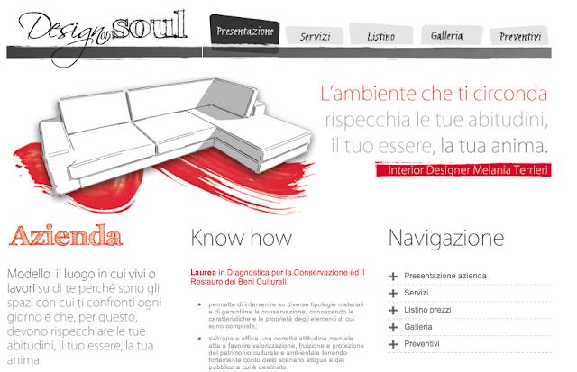 Corsi di interior design design of soul progettazione for Progettazione online