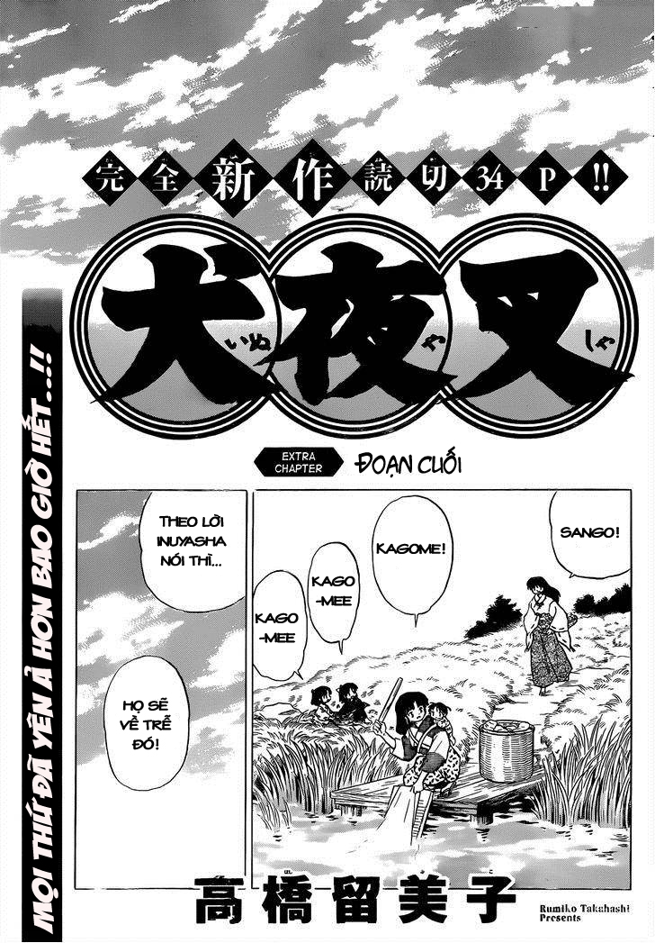 Inuyasha-Khuyển Dạ Xoa-Bản Đẹp chap 525 – extra Trang 3