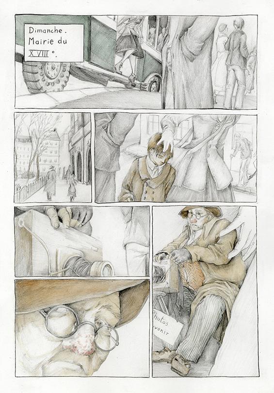 BD Dora Bruder par Astate, page 2