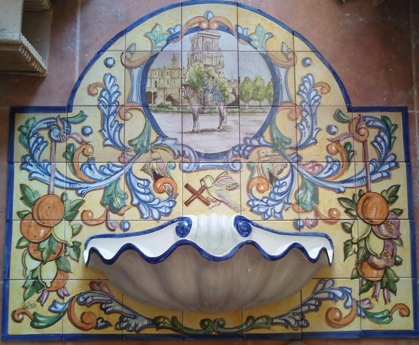 Ceramica art stica jose antonio chaira fuente renacimiento - Murales de ceramica artistica ...