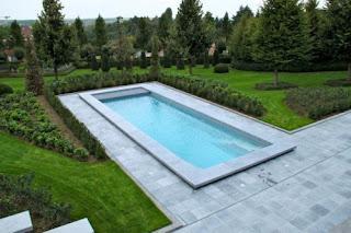 Hout beton schutting: zwembad huttenheugte prijs