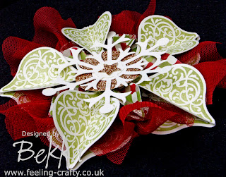 Amazing Ornament featuring Stampin' Up! Product designed by Bekka www.feeling-crafty.co.uk