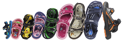 Easy Magnetic Snap Lock Closure Kids Water Sandals #goldpigeonshoes