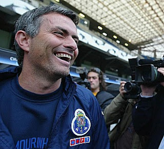 Mourinho smiles in Riazor Stadium as Porto coach