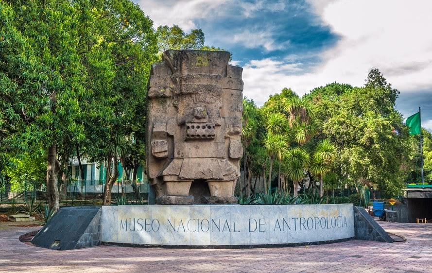 Museo Nacional de Antropología en México D.F.