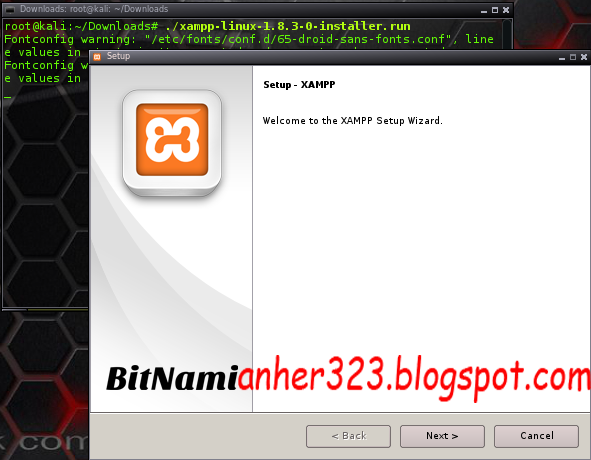 Setup Xampp