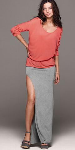 Сшить юбку длинную с разрезами