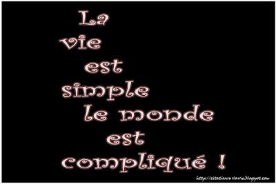 Phrase de la vie en francais - Citation sur la vie