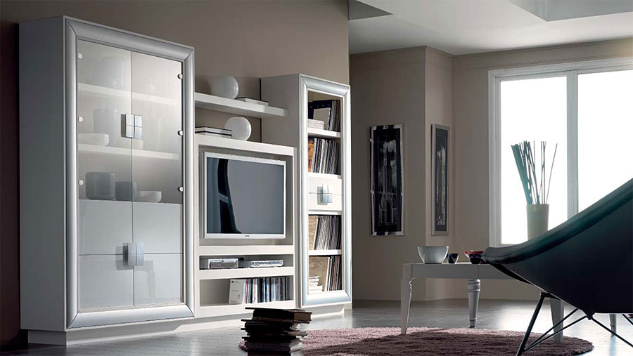 C mo decorar un sal n contempor neo for Muebles para tv contemporaneos