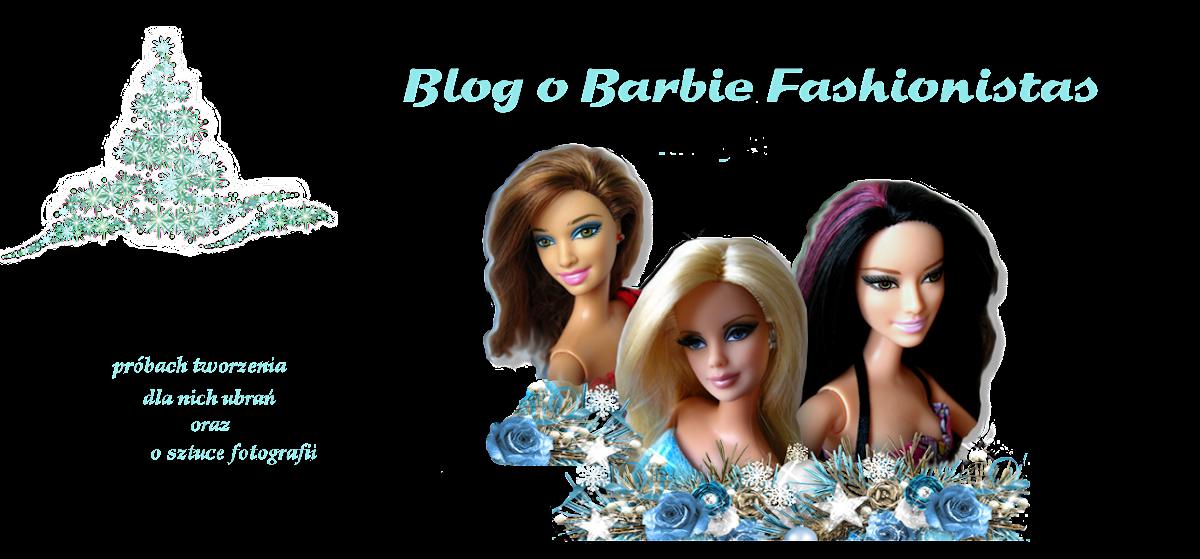 Blog o Barbie Fashionistas, próbach tworzenia dla nich ubrań oraz o sztuce fotografii