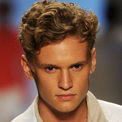 Mens Curly Hairstyles 2013