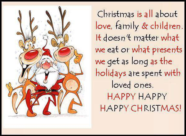 quotes and sayings christmas is all about love
