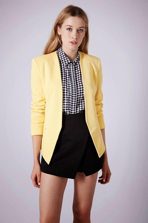lemon blazer