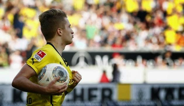 Reus lidera la remontada del Borussia ante el Stuttgart