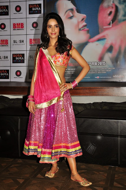 Mallika Sherawat in beautiful Red Lehenga CHoli at Audio launch of Dirty Politics movie
