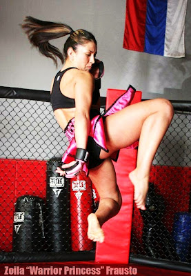 Muay Thai Flying Knee