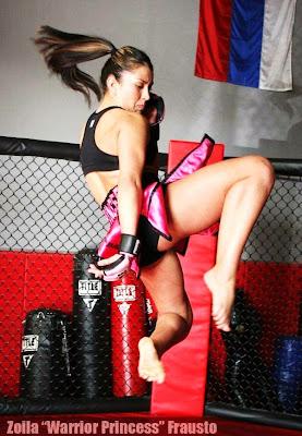 Muay Thai Flying Knee