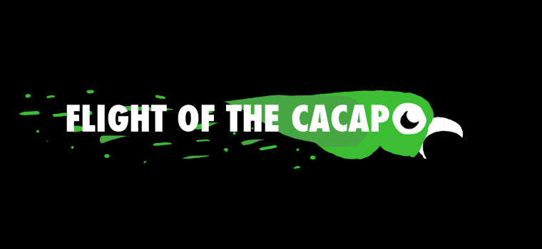 flight of the cacapo