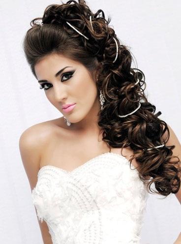 Peinados semi recogidos | Peinados para novias | starMedia