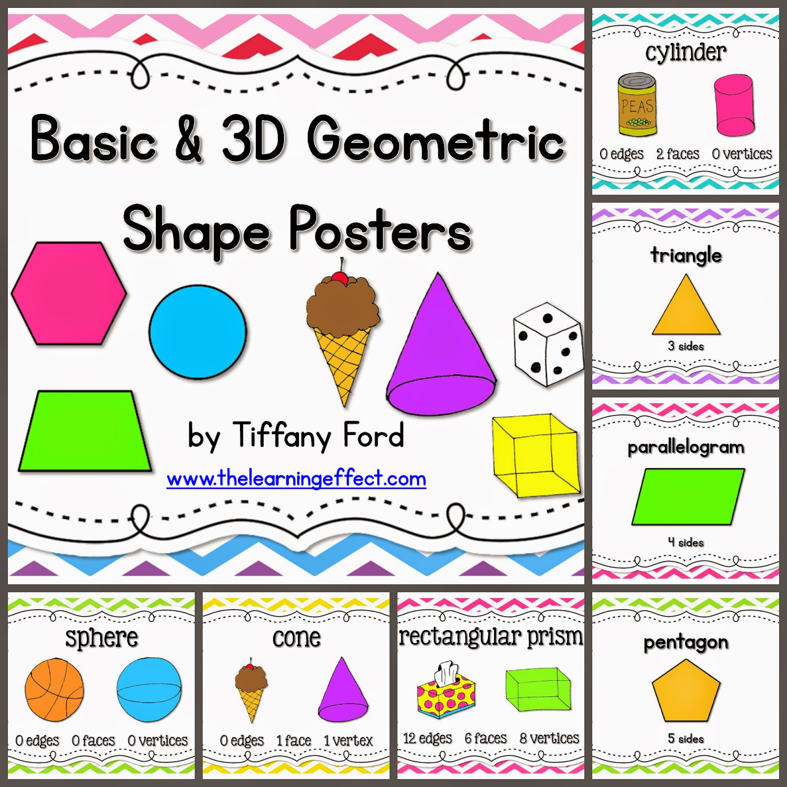 https://www.teacherspayteachers.com/Product/Basic-3D-Geometric-Shape-Posters-Chevron-BUNDLE-607927