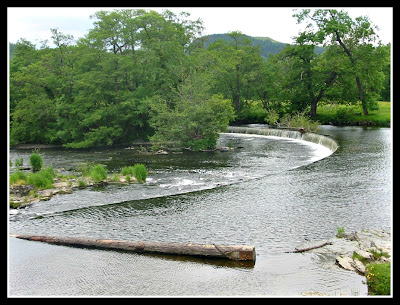 Horseshoe Falls at Llangollen