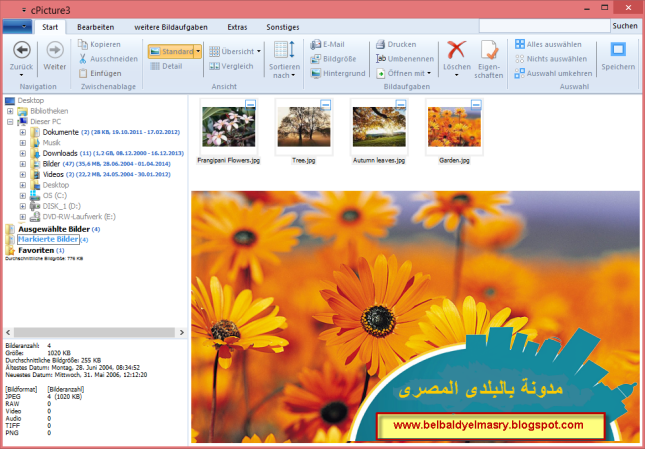 حمل احدث اصدار من برنامج التعديل على الصور وتحريرها cPicture 3.4.3 بحجم 2.7 ميجا بايت رابط مباشر