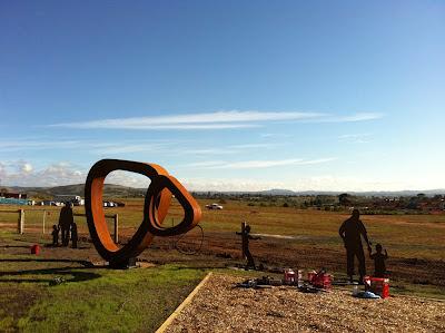 Corten Steel Sculpture Melbourne