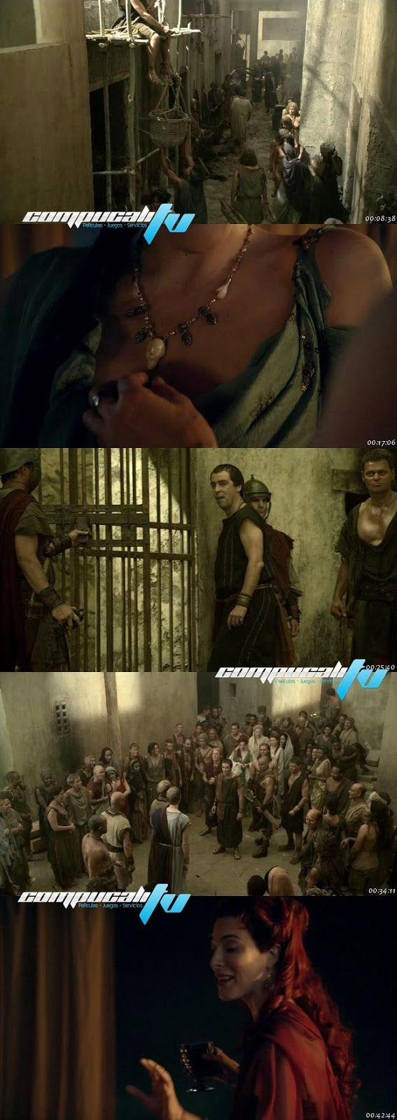 Spartacus Gods of the Arena [Temporada 2] HDTV Español Latino Precuela