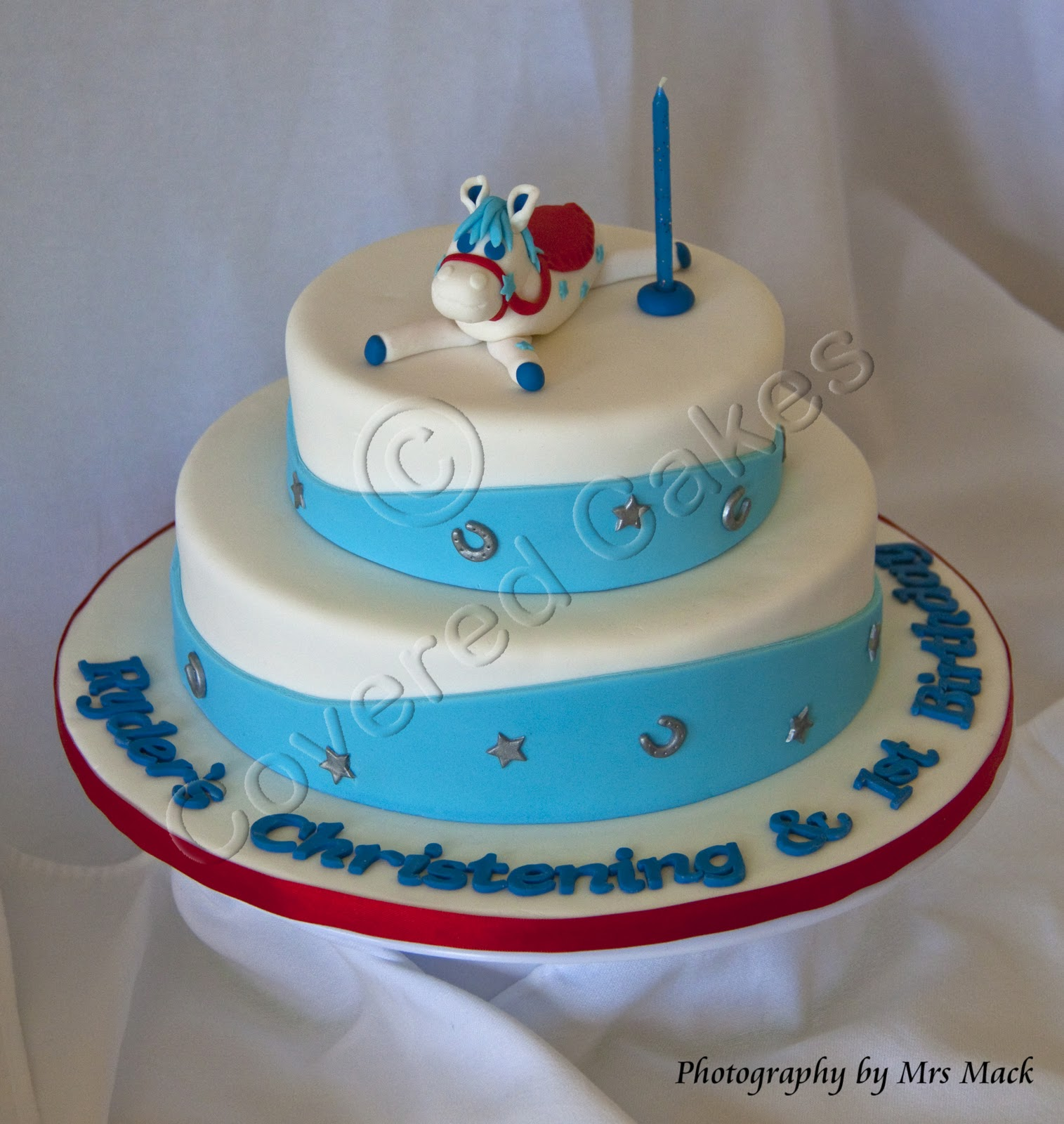 Covered Cakes: Tiered Birthday Cakes