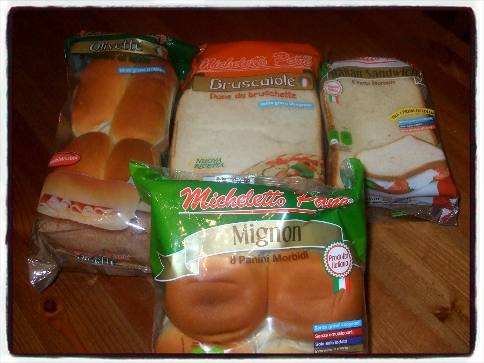Pasticciando nella mia cucina micheletto pane passione italiana per il pane - Diversi tipi di pane ...