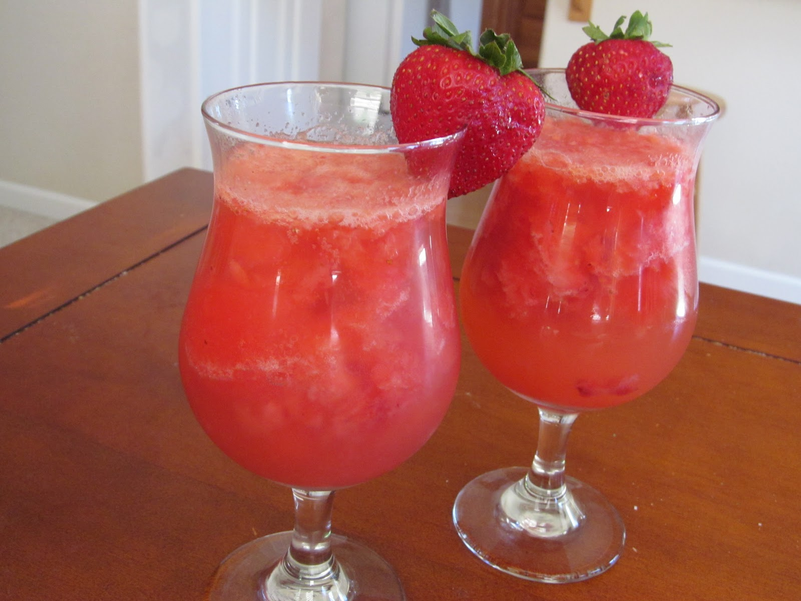 Summer Fever Strawberry Lime Granitajust 4-ingredients Recipe ...