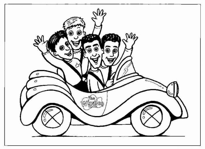 Fun Coloring Pages: The Wiggles Coloring Pages