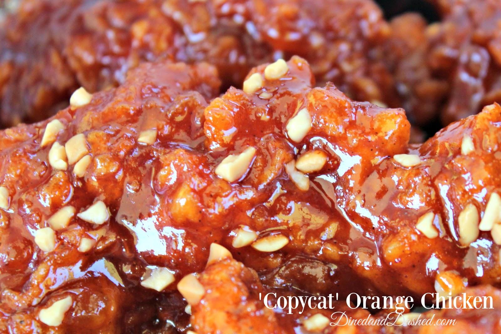 'Copycat' Orange Chicken Recipe