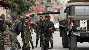 Jalanan di Damaskus Kosong Tanpa Pria
