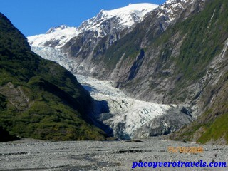 Glaciar Franz Josef en Nueva Zelanda, excursión a su terminal