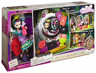 JUGUETES - Ever After High : Way Too Wonderland  Playset + Raven Queen | Muñeca - Doll  Toys | Producto Oficial 2015 | Mattel | A partir de 6 años