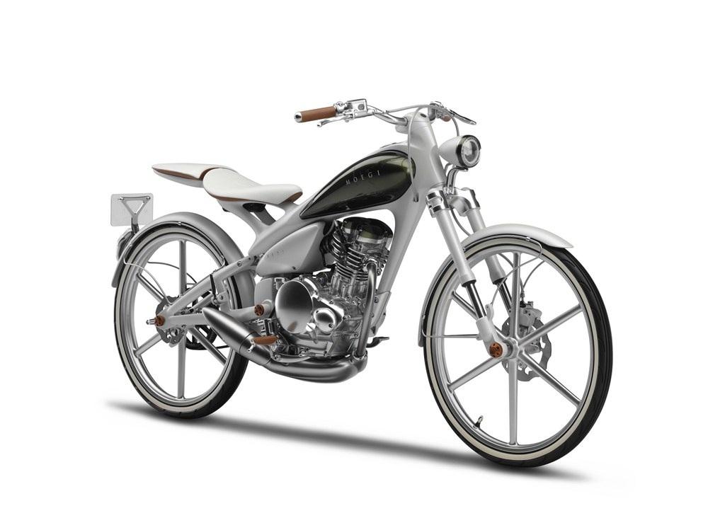 自転車の 自転車 サドルバッグ おしゃれ : Yamaha 125 Concept Bike