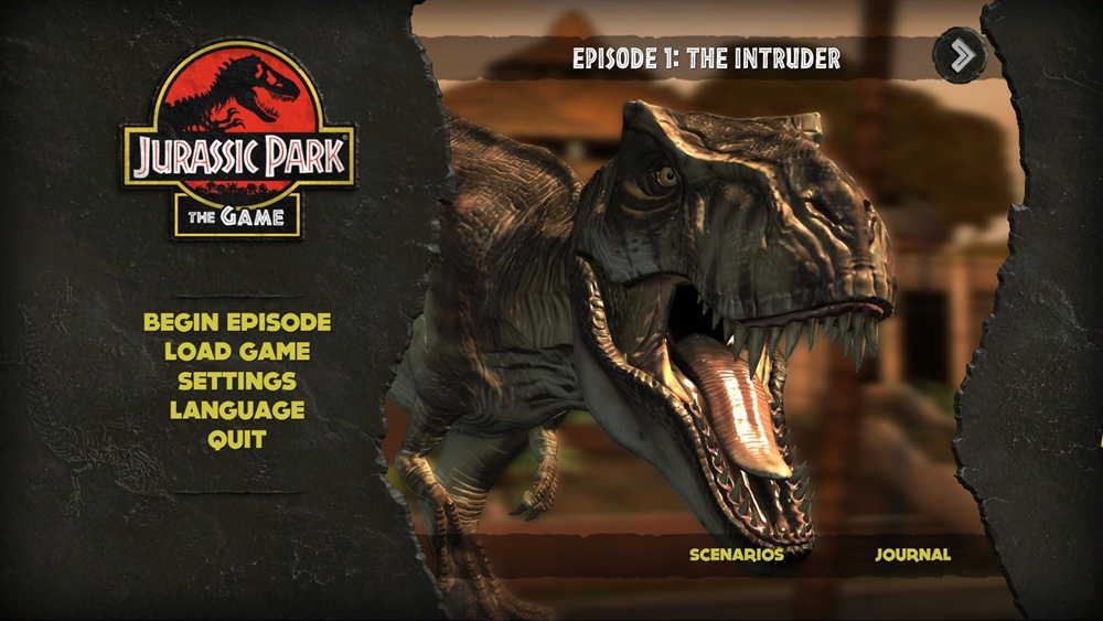 Jurassic Park The Game Download Poster