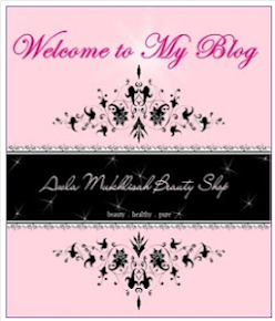 """GIVEAWAY  WELCOME TO MY BLOG by AWLA MUKHLISAH BEAUTY SHOP """