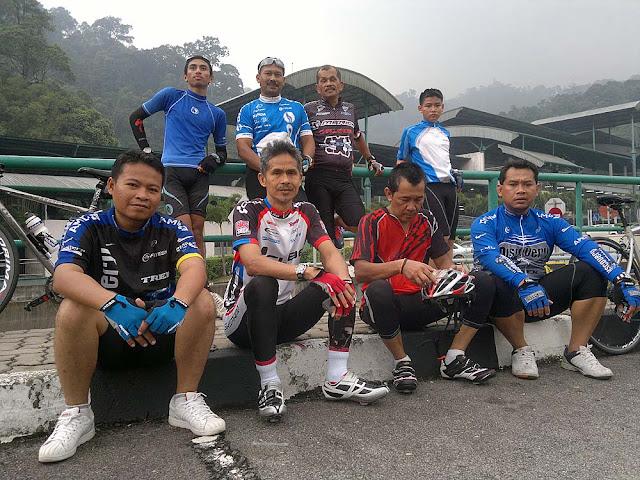 Cycling Bentong ke Genting Sempah