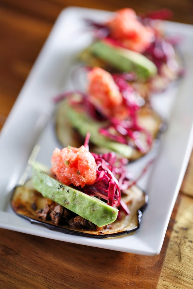 The Chubby Vegetarian: Eggplant and Mushrooms Mini Tacos (Vegan, Paleo ...