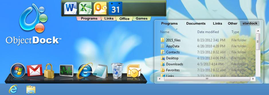 Download ObjectDock 2.1 Terbaru distroapps